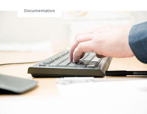 dokumentation tastatur