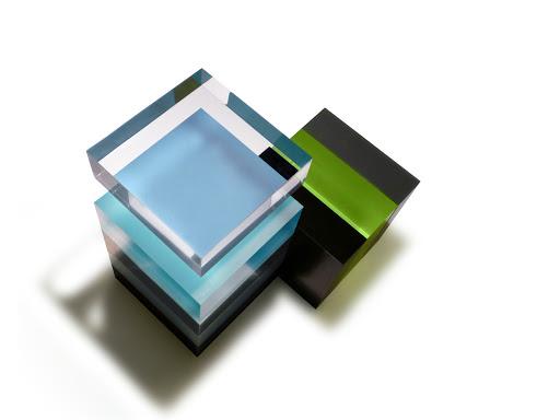 Altuglas blocks, samples.