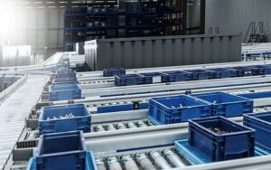 container conveyor system